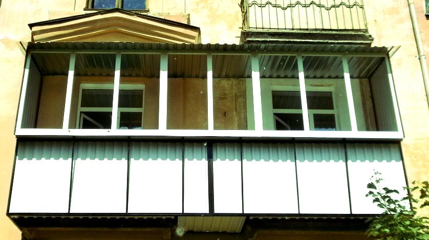Балкон под ключ по выгодным ценам