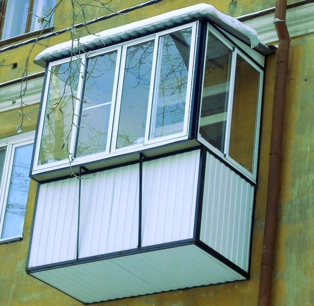 Остекление балконов по выгодным ценам